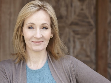 J.K. Rowling. Courtesy of Debra Hurford Brown and the Guardian