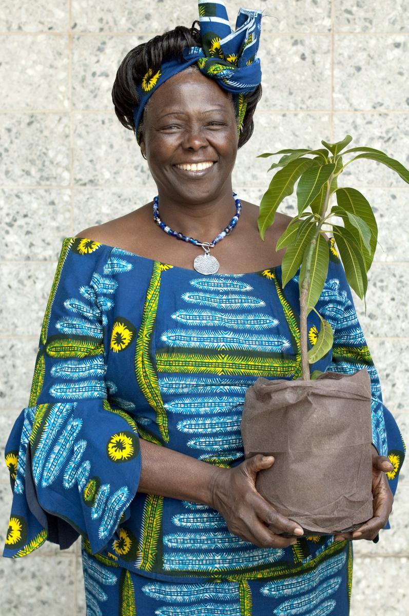 PHOTO Wangari_Maathai (c) Patrick Wallet